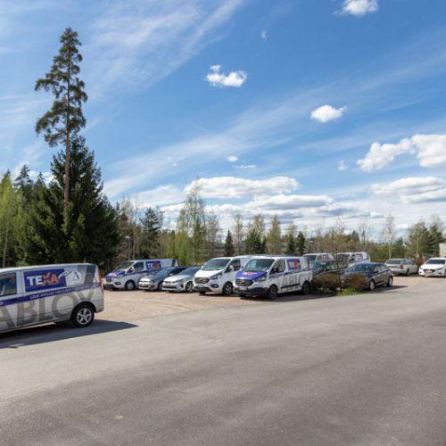 Pysäköintialue 2 | Ansatie 6 | Toimitilat Vantaa